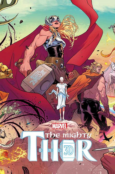MIGHTY THOR 3D #1