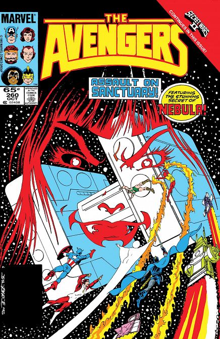 TRUE BELIEVERS AVENGERS NEBULA #1
