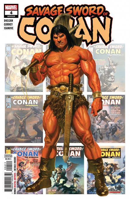 SAVAGE SWORD OF CONAN #4