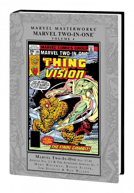 MARVEL MASTERWORKS MARVEL TWO IN ONE HC VOL 04