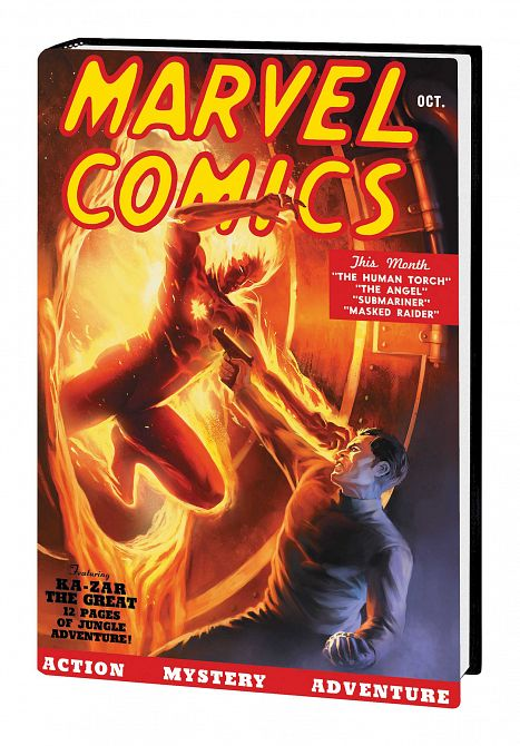 MARVEL COMICS 1 HC 80TH ANNIVERSARY EDITION