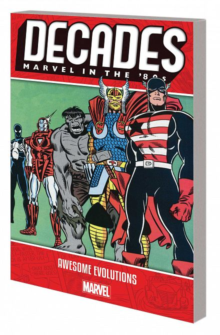 DECADES MARVEL 80S TP AWESOME EVOLUTIONS