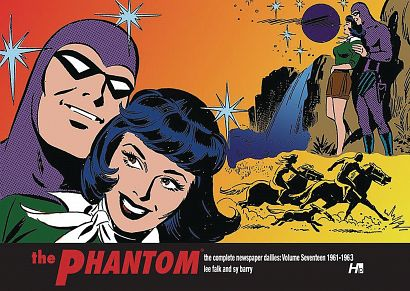 PHANTOM COMP DAILIES HC VOL 17 1961-1962