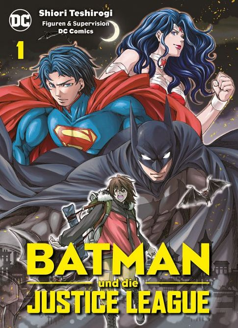 BATMAN UND DIE JUSTICE LEAGUE #01