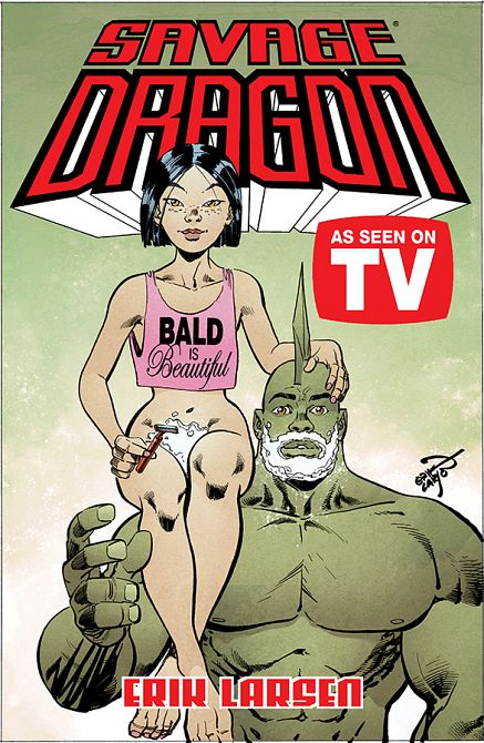 SAVAGE DRAGON AS SEEN ON TV TP