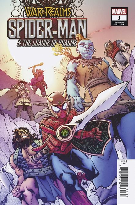WAR OF REALMS SPIDER-MAN & LEAGUE OF REALMS #1