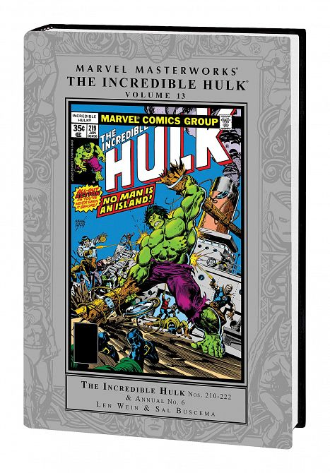 MARVEL MASTERWORKS INCREDIBLE HULK HC VOL 13