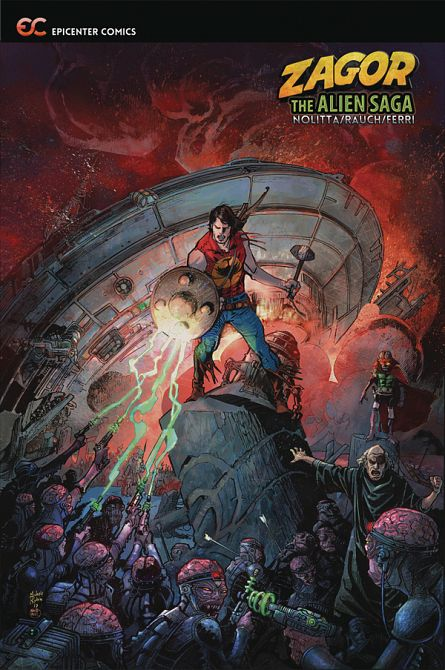 ZAGOR THE ALIEN SAGA GN