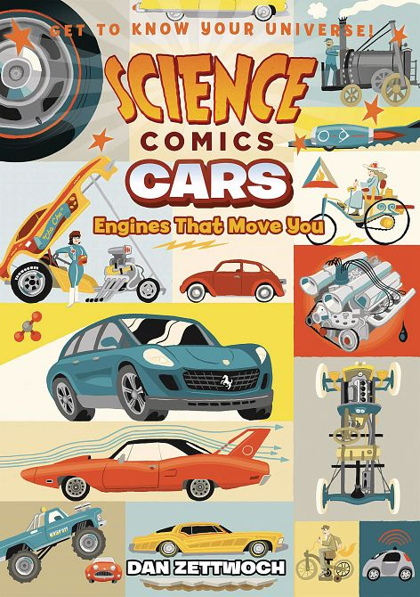 SCIENCE COMICS CARS ENGINES THAT MOVE YOU SC GN