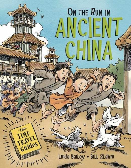 ON THE RUN IN ANCIENT CHINA HC GN