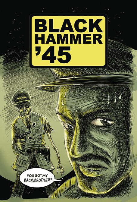 BLACK HAMMER 45 FROM WORLD OF BLACK HAMMER #4