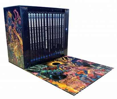 CRISIS ON INFINITE EARTHS HC BOX SET