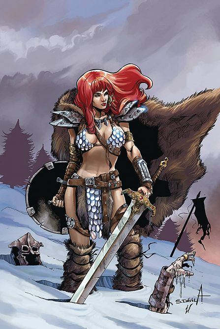 RED SONJA BIRTH OF SHE DEVIL #1