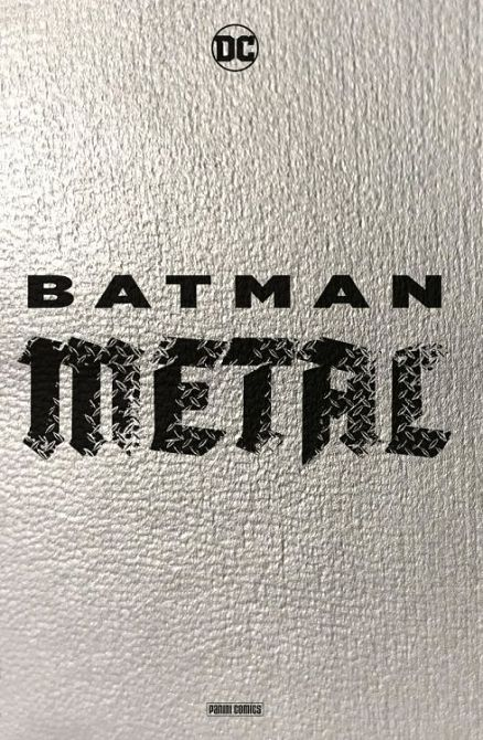 BATMAN METAL PAPERBACK (HC)