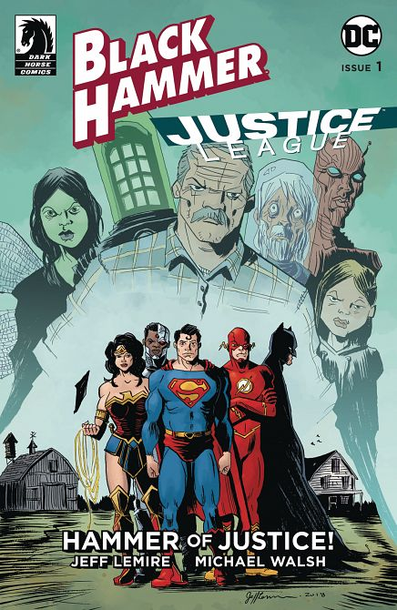 BLACK HAMMER JUSTICE LEAGUE #1