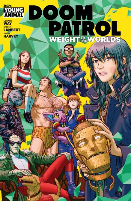 DOOM PATROL THE WEIGHT OF THE WORLDS #1