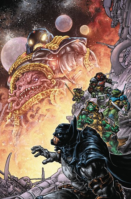 BATMAN TEENAGE MUTANT NINJA TURTLES III #3