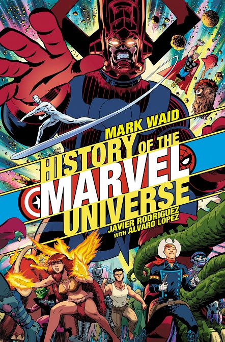 HISTORY OF MARVEL UNIVERSE #1