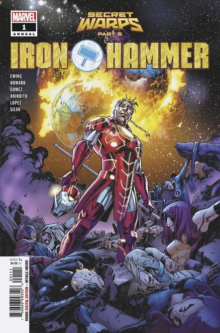 SECRET WARPS IRON HAMMER ANNUAL #1