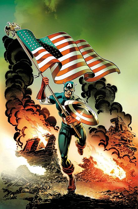 CAPTAIN AMERICA INVADERS BAHAMAS TRIANGLE #1