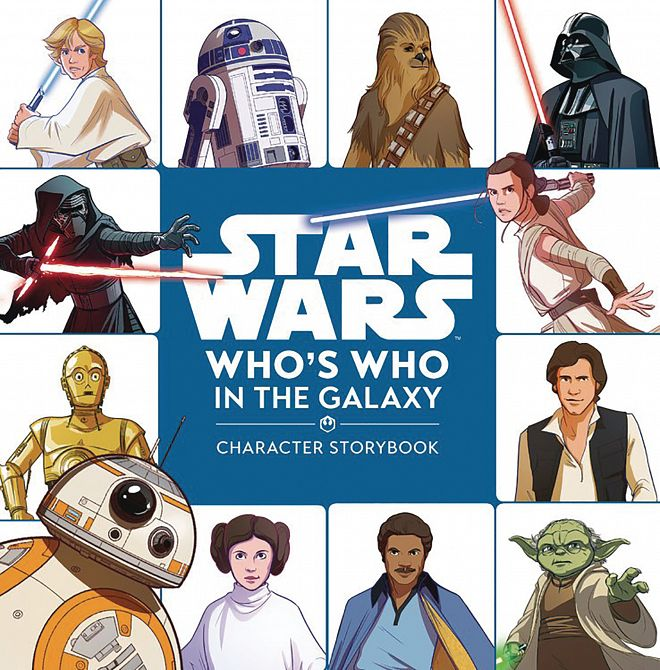 STAR WARS WHOS WHO CHARACTER STORYBOOK HC