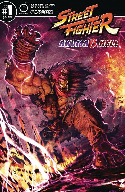 STREET FIGHTER AKUMA VS HELL #1