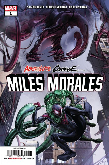 ABSOLUTE CARNAGE MILES MORALES #1
