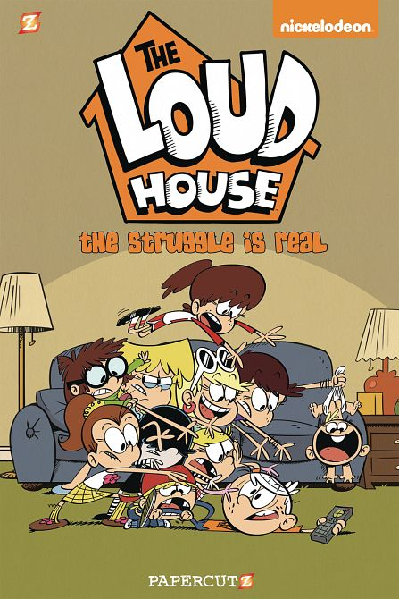 LOUD HOUSE HC GN VOL 07 STRUGGLE IS REAL
