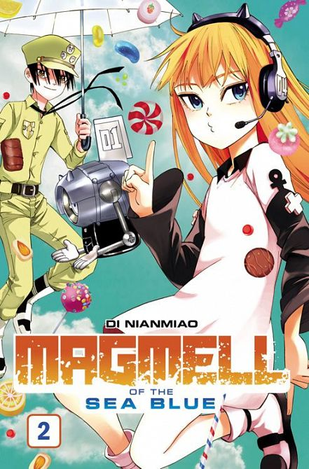 MAGMELL OF THE SEA BLUE #02