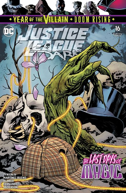 JUSTICE LEAGUE DARK #16