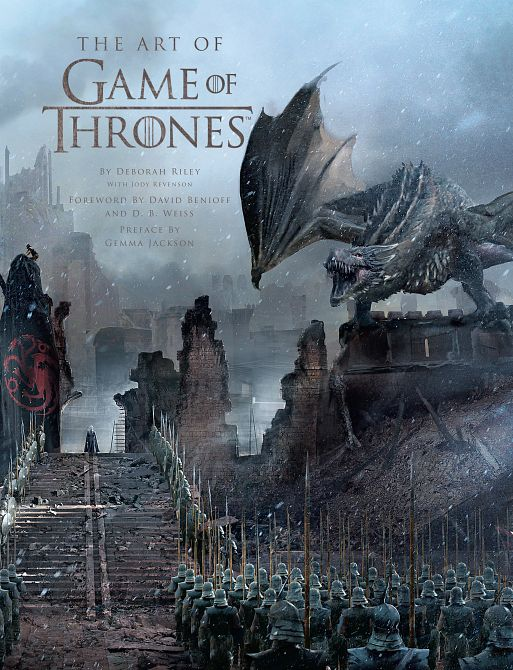 ART OF GAME OF THRONES HC