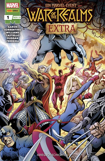 WAR OF THE REALMS EXTRA #01