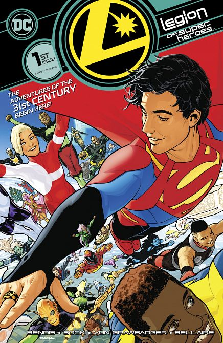 LEGION OF SUPER HEROES #1
