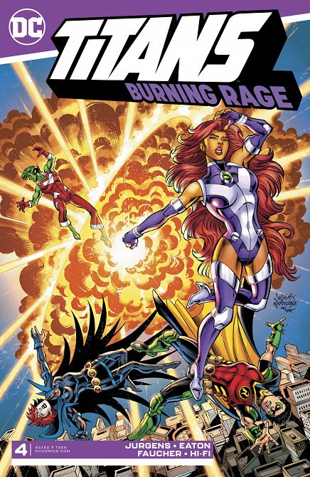 TITANS BURNING RAGE #4
