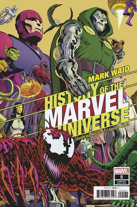 HISTORY OF MARVEL UNIVERSE #5