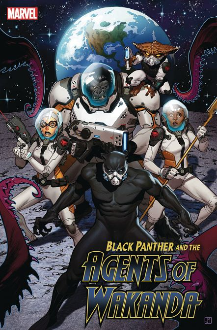 BLACK PANTHER AND AGENTS OF WAKANDA #3