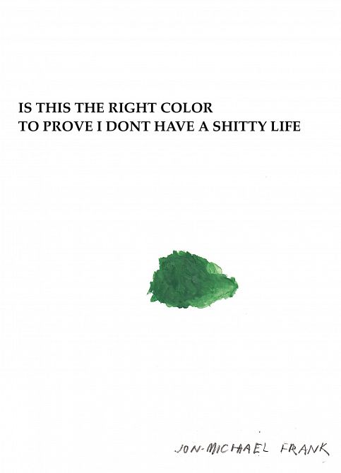 IS THIS RIGHT COLOR TO PROVE DONT HAVE SHITTY LIFE GN