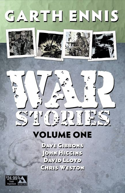 GARTH ENNIS WAR STORIES TP SPECIAL EDITION PAKET