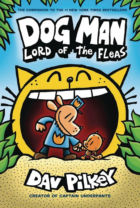 DOG MAN HC GN W DUST JACKET VOL 05 LORD OF FLEAS