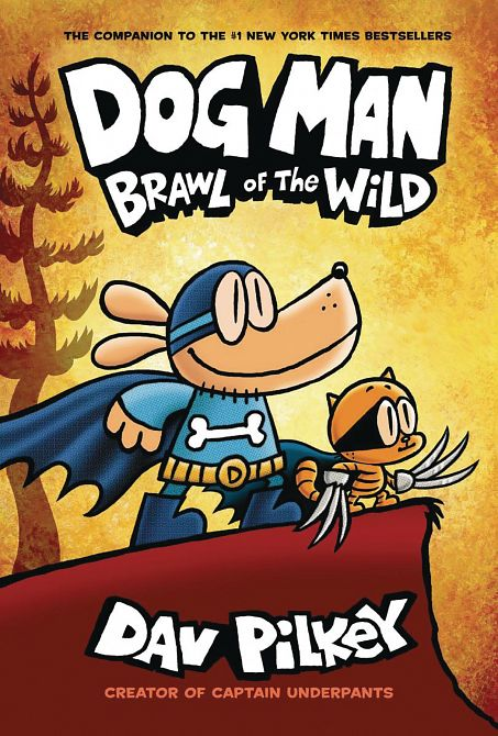 DOG MAN HC GN W DUST JACKET VOL 06 BRAWL OF WILD