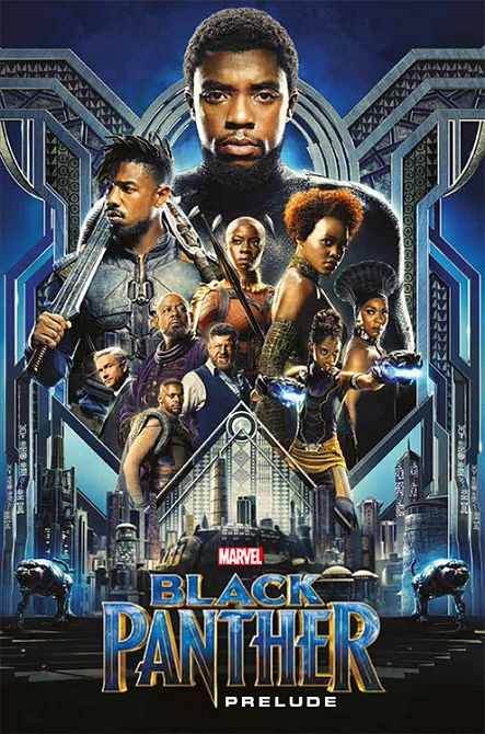 MARVEL MOVIE COLLECTION: BLACK PANTHER #09
