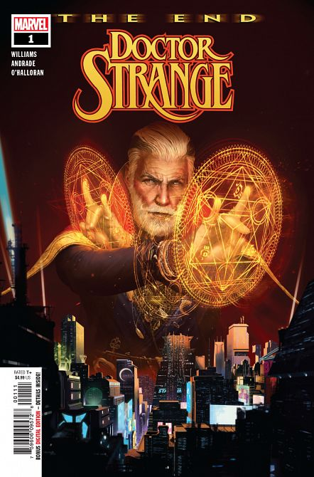 DOCTOR STRANGE THE END #1