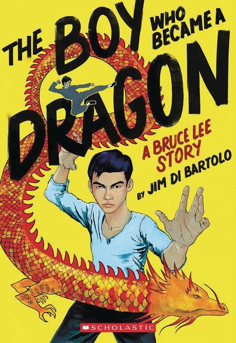 BOY WHO BECAME A DRAGON BRUCE LEE STORY HC GN