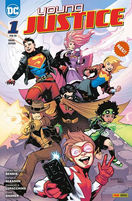YOUNG JUSTICE (ab 2020) #01