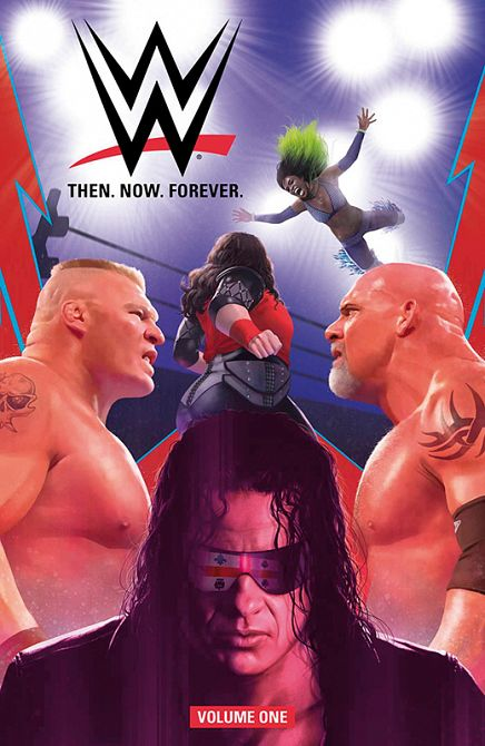 WWE: THEN, NOW, FOREVER #01