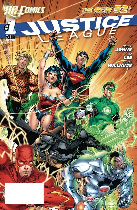 DOLLAR COMICS JUSTICE LEAGUE #1