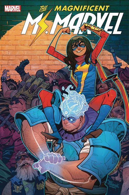 MAGNIFICENT MS MARVEL #13