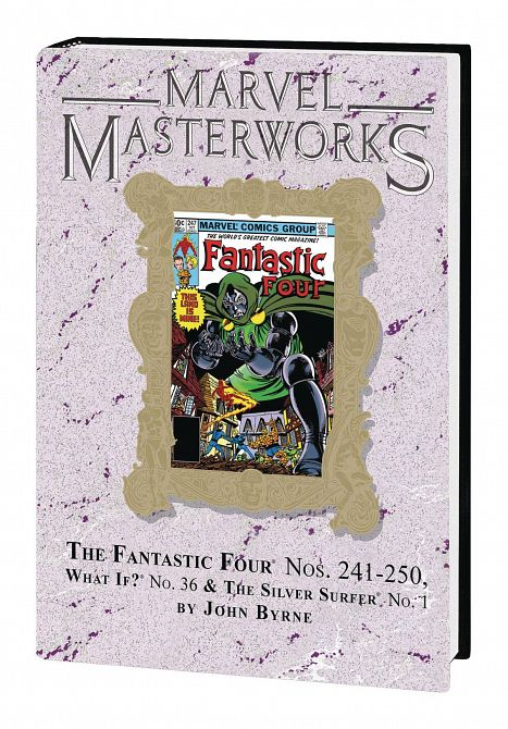 MARVEL MASTERWORKS FANTASTIC FOUR HC VOL 22 DM VAR ED 292