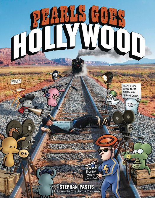 PEARLS BEFORE SWINE TP PEARLS GO HOLLYWOOD