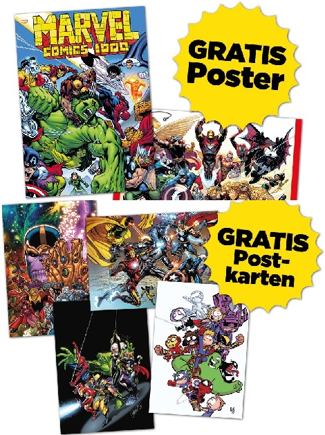 MARVEL-TAG 2020: GRATIS-SET (ALL INCLUSIVE)